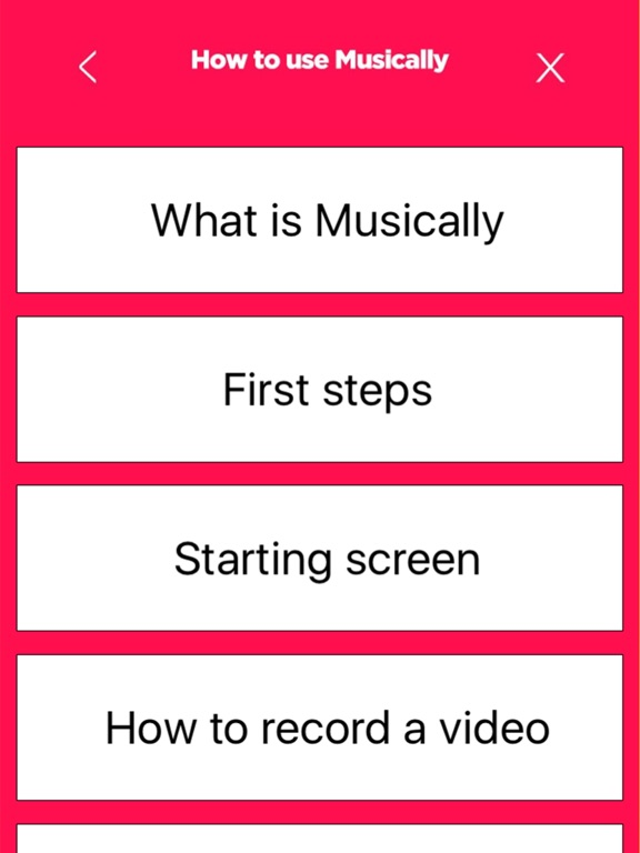 How to use for musically-ipad-1
