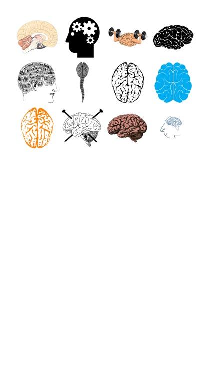 Brain Sticker Pack!