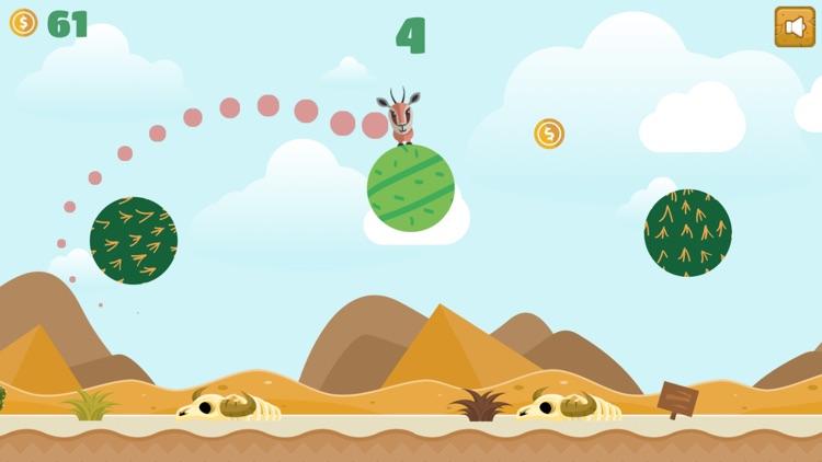 Jumping Desert Animal Challenge: Flipping for Fun! screenshot-0