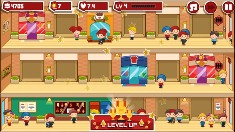 Shopping Mall Manager - mall simulation game screenshot-3
