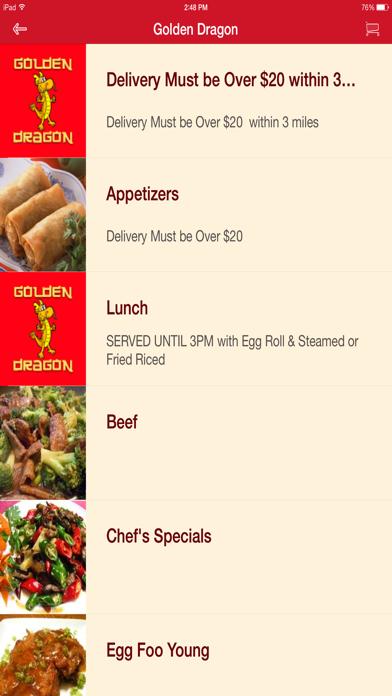 Golden Dragon Chinese Restaurant screenshot two