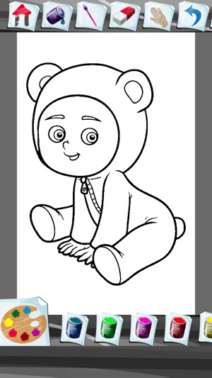 Baby Coloring Book App on the App Store
