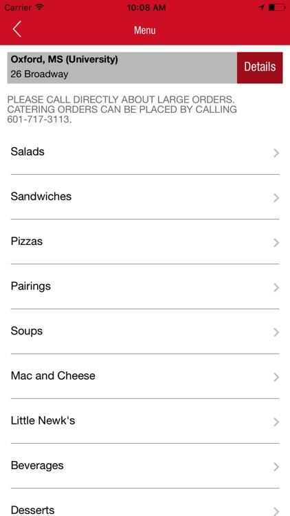 Newk's Eatery Ordering screenshot-1