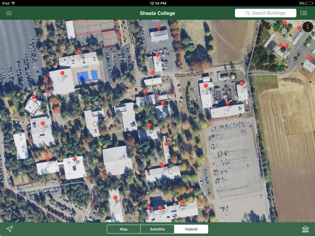 Shasta College Tehama Campus Map.Shasta College On The App Store