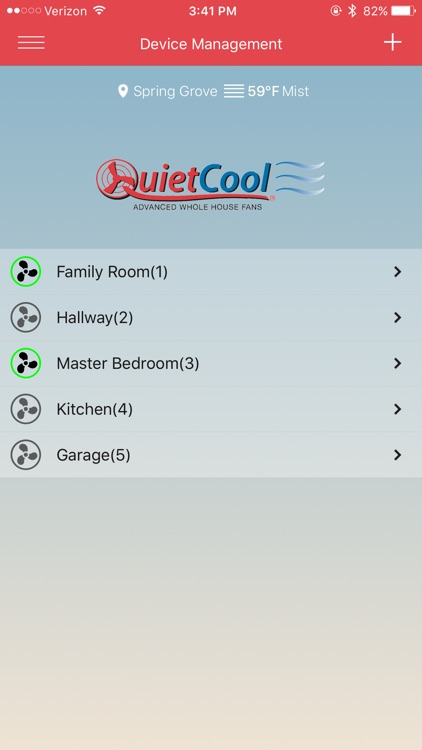 QuietCool Whole House Fan by QC Manufacturing, Inc