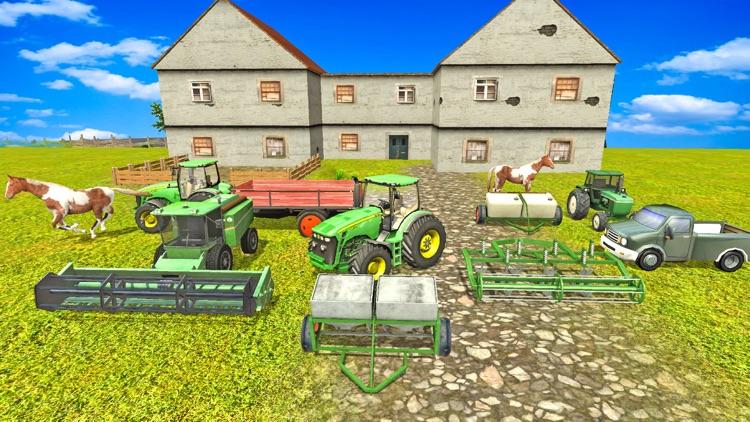Farming Tractor Simulator 2017 3D: Hill screenshot-4