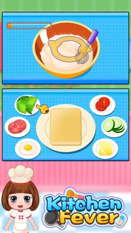 Belle's kitchen fever - cooking game for kids