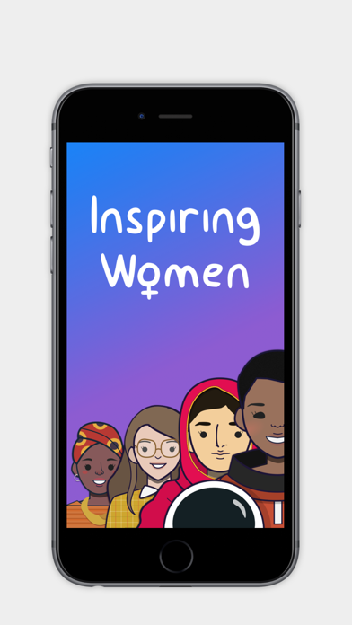 Inspiring Women Stickers screenshot one