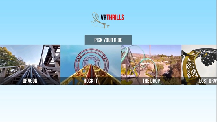VR Thrills: Roller Coaster 360 (Google Cardboard) screenshot-0