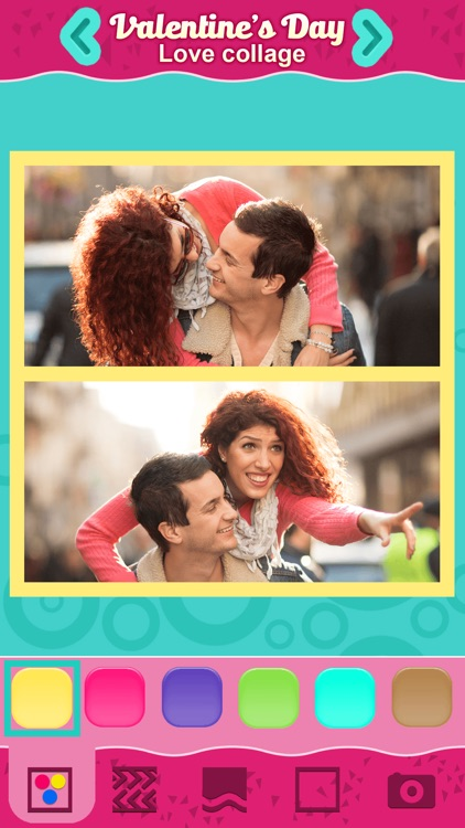 Valentine's Day Love Collage: Cute Photo Frames screenshot-4