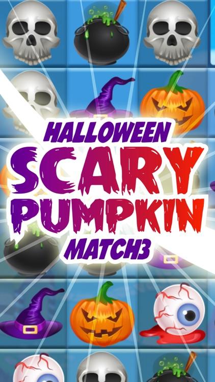 Halloween Scary Pumpkin Match 3
