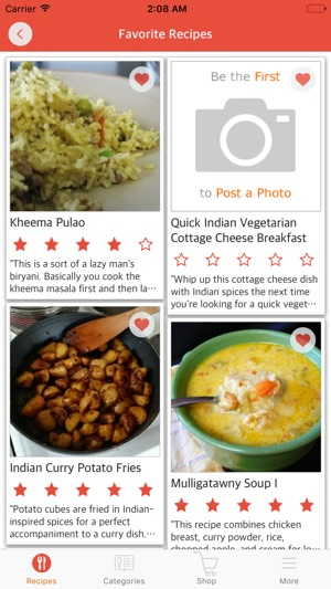 Indian recipes free sweet and spicy indian food on the app store indian recipes free sweet and spicy indian food on the app store forumfinder Image collections