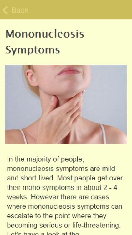 Symptoms Of Mono