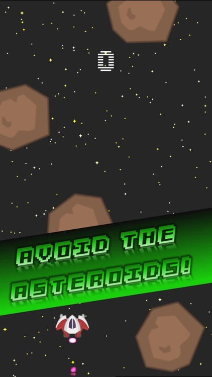 Impossible Retro Endless Arcade Game : Space Pro ! screenshot-1