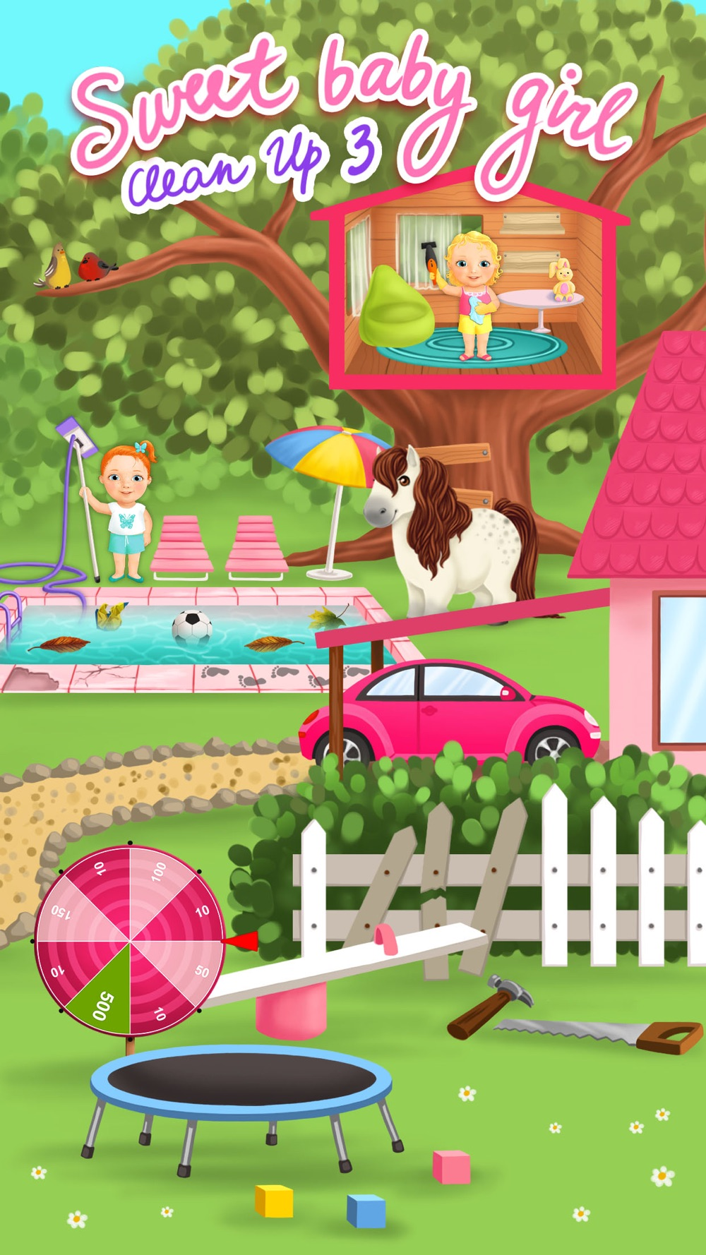Sweet Baby Girl Cleanup 3 – Messy House Cheat Codes