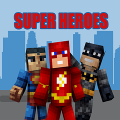 SuperHero SKINS App for Minecraft PE - MCPE Skins