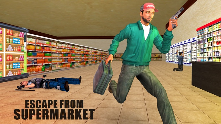 Supermarket Gangster Attack – Robbery Master Plan