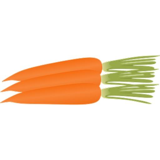 更多胡蘿蔔貼紙