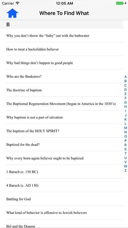 Strand Study Bible screenshot-3