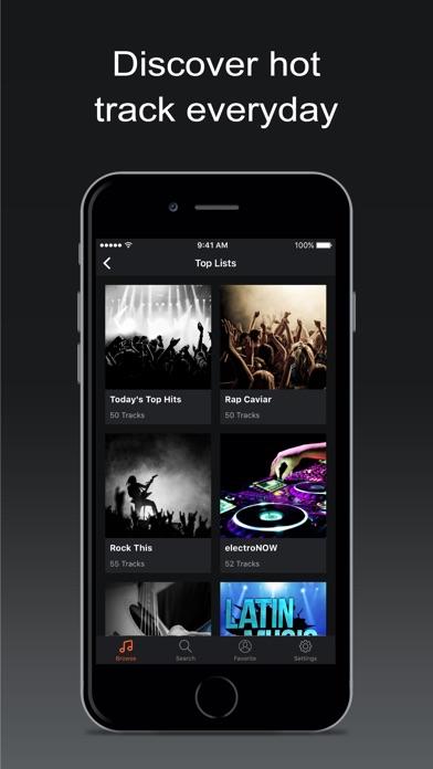 Premium Music Search for iPhone Premium Screenshot