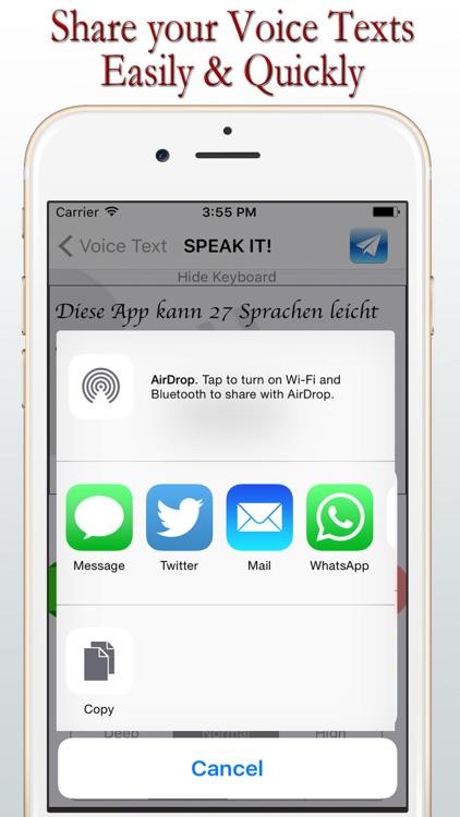 Voice Texts - LIVE - Lite