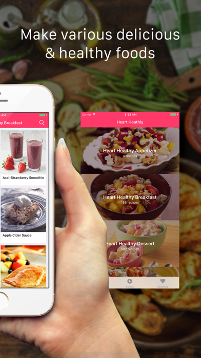 Heart Healthy Recipes, Ingredients & Meal PlansScreenshot of 2