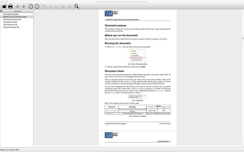 StarForce Reader скриншот программы 2