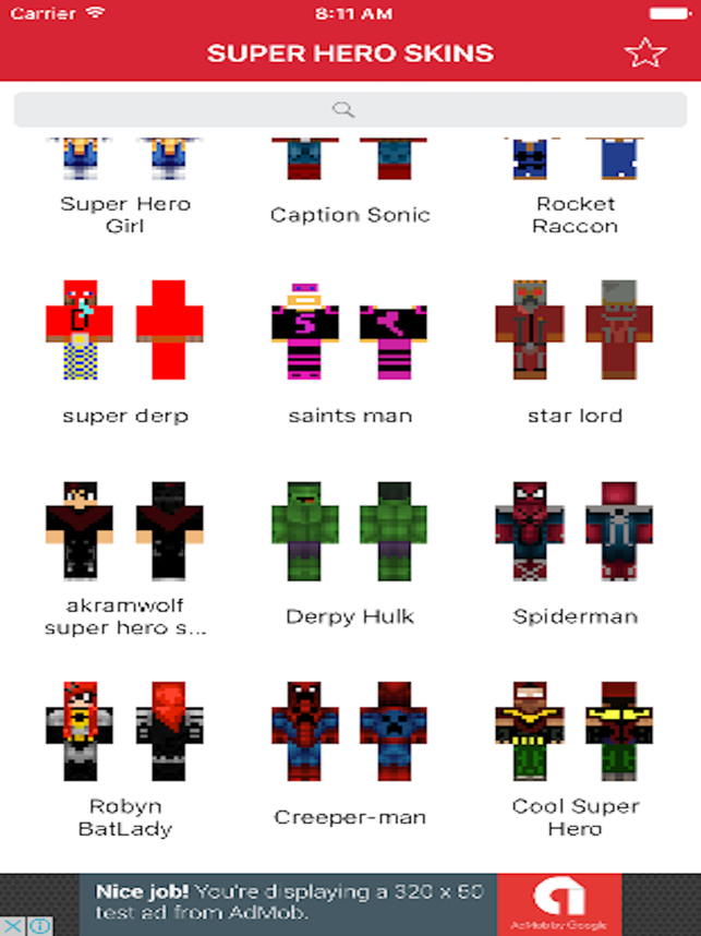 VIP Custom Skins For Minecraft Pe Pro On The App Store - Skin para minecraft pe vip