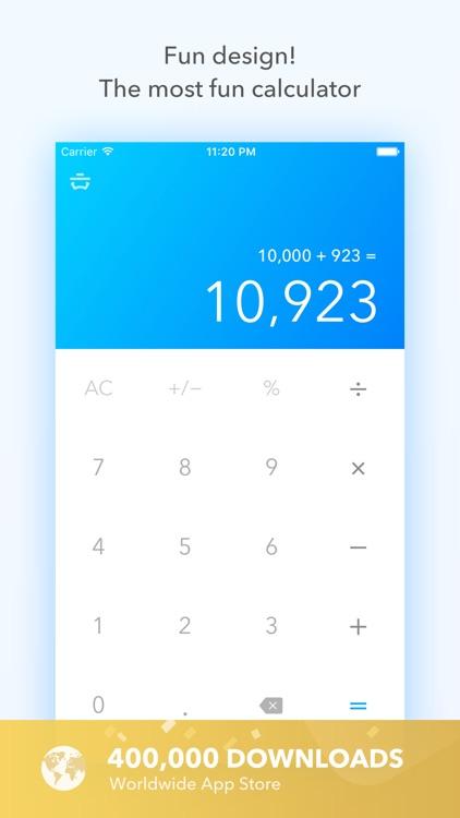 Basic Calculator Pro screenshot-0