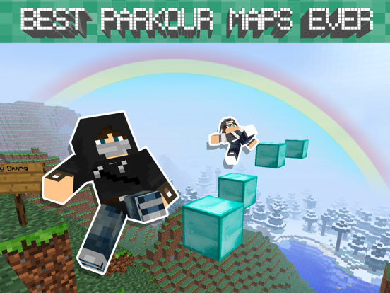Free Parkour Maps for Minecraft Pocket Edition | App Price