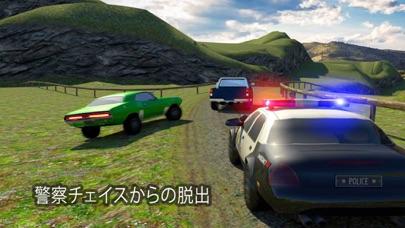 オフロードパトカーチェイス刑務所は、レーシングゲームを脱出しますのおすすめ画像2