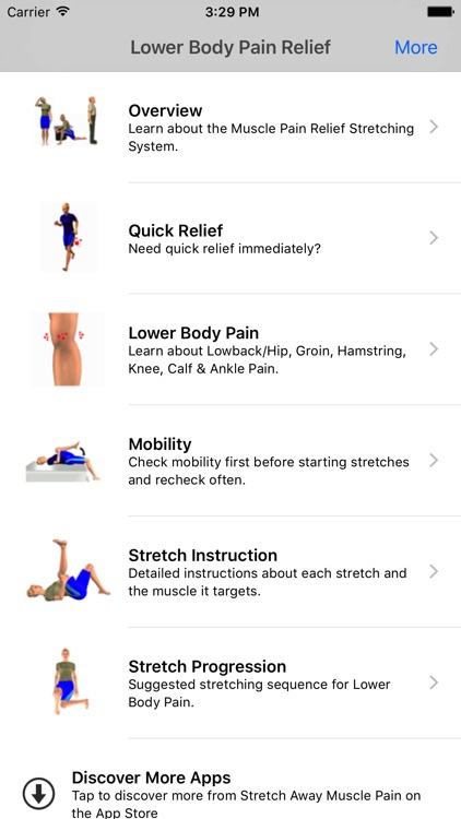 Stretch Away Back & Leg Pain screenshot-0