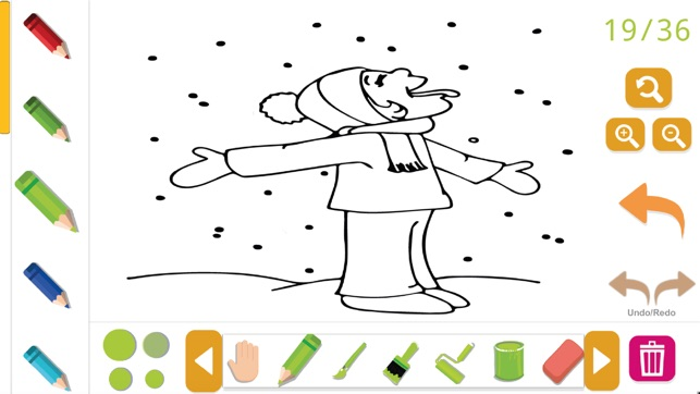 Bob Drawing And Coloring Book free im App Store
