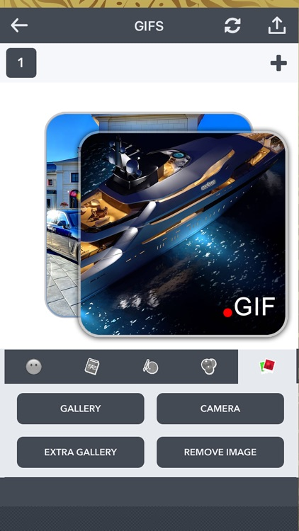 Create Animated Gif Wallpaper in Luxury Themes Pro