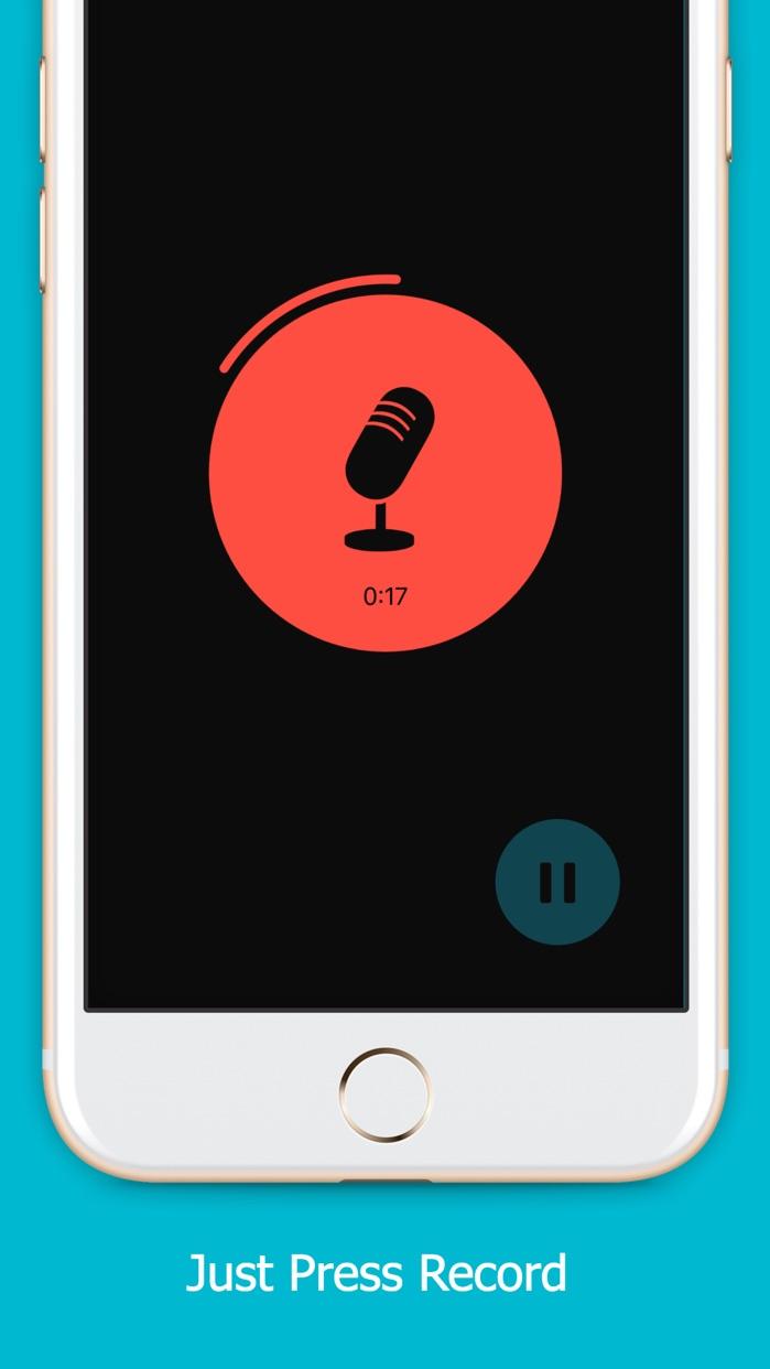 Mic'd -  Beautifully simple recording Screenshot