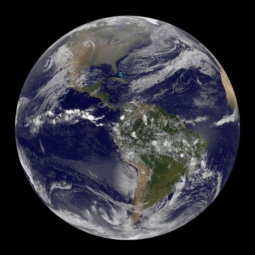 Earth View Satellite