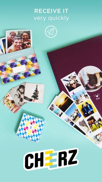CHEERZ : Photo prints, photo album, magnets screenshot-4