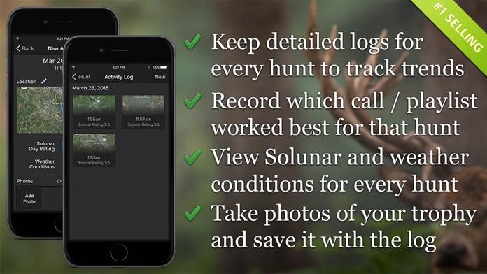 iHunt By Ruger Hunting Calls Fish & Solunar Tables Screenshot