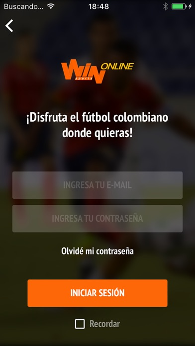 Screenshot for Win Sports Online in Chile App Store