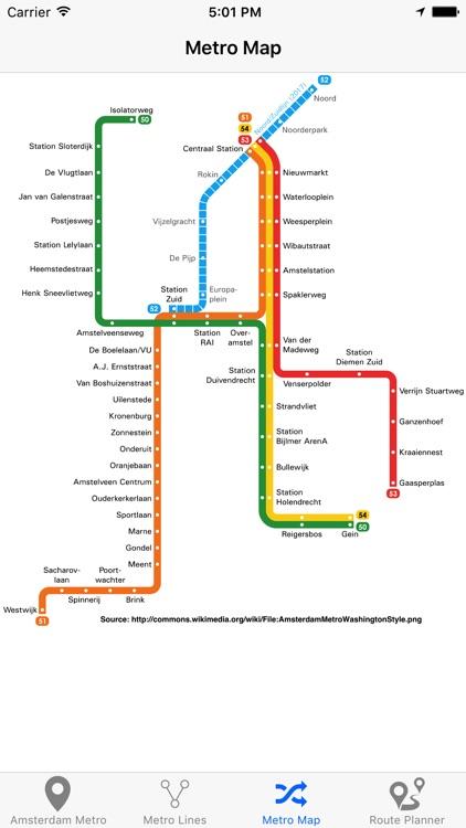 Amsterdam Metro - Subway screenshot-3