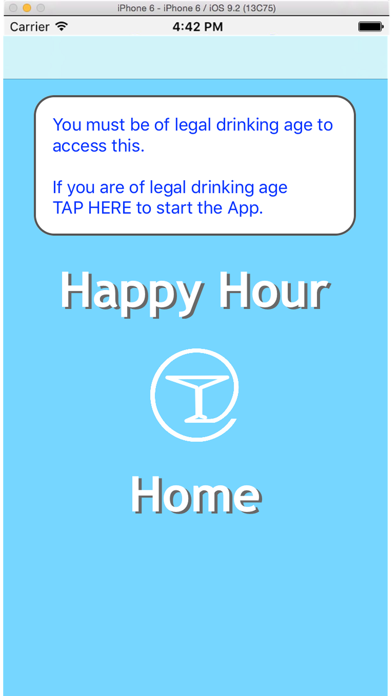 Happy Hour at Home screenshot one
