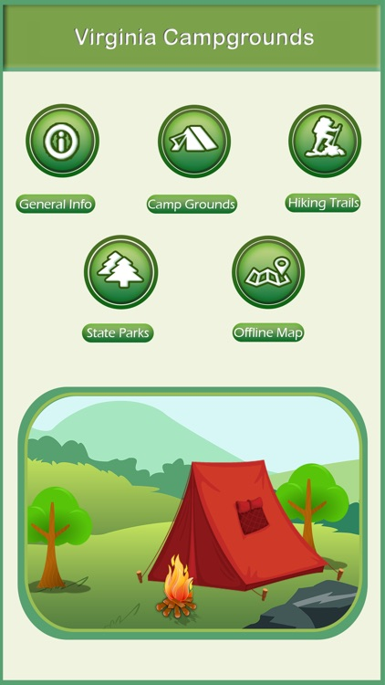 Virginia Camping & Hiking Trails
