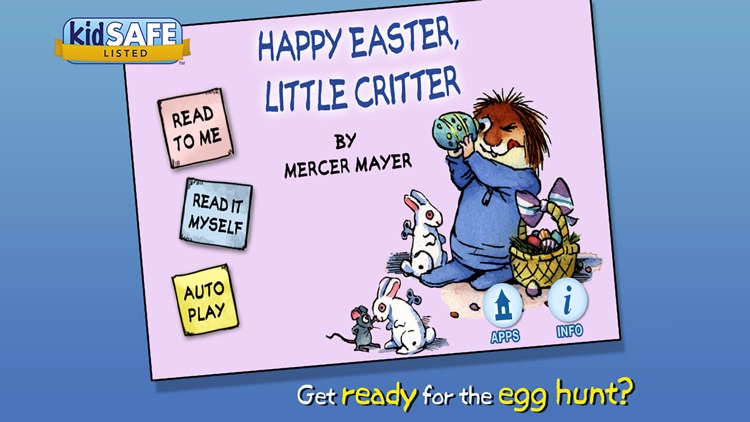 Happy Easter, Little Critter screenshot-0