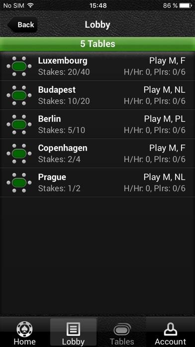 Pro Poker Online screenshot