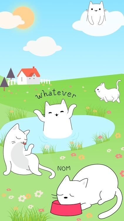 Yuki Neko - Animated Kitty Cat Fun Pet Stickers screenshot-4