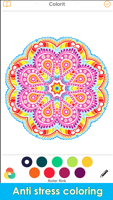 Coloring Me : Coloring Book for Adults screenshot four