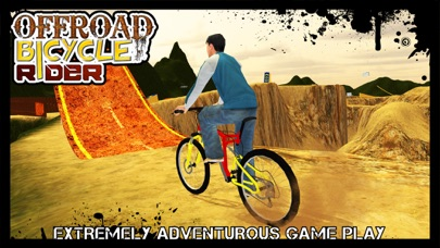 Offroad Bicycle Rider & uphill cycle simulator 3D screenshot three