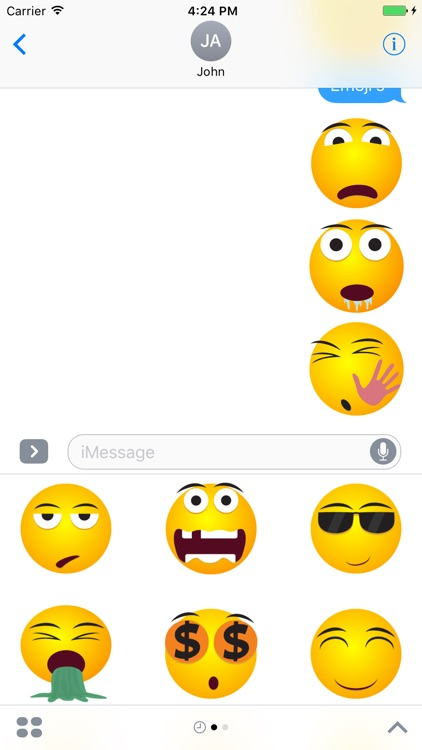Emoji & Emoticons Stickers For iMessage