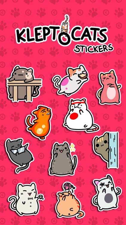 KleptoCats Stickers screenshot-4