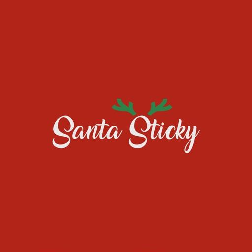 Santa Sticky - Ho Ho Ho